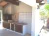 Poolside Kitchen Barbecue Area