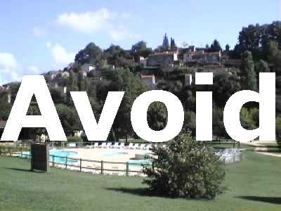 Mobile Home Holiday Dordogne France to be Avoided