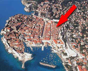 Croatia Dubrovnik Old Town Apartment for Self Catering Holiday