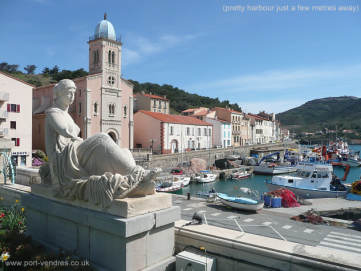 Port vendres near collioure eastern pyrenees languedoc-roussillon apartment for holiday rental