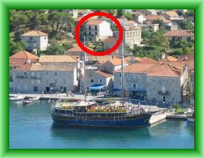 Jelsa Hvar Apartment for Holiday Rental Croatia