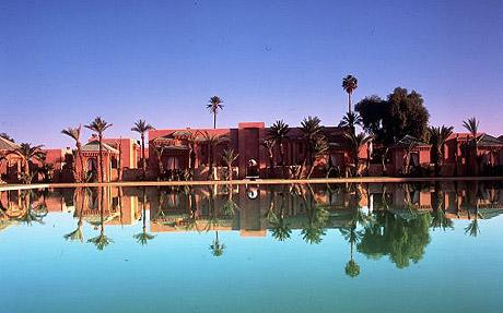 Marrakesh, Morocco: A picture of the kasbah